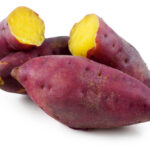 What Japanese sweet potatoes look like