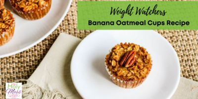 oatmeal cup on white plate