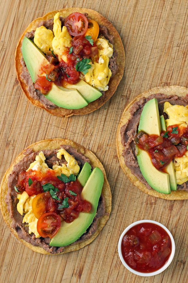 WW breakfast tostadas