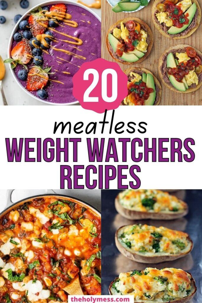 Weight Watchers Vegetarian Recipes