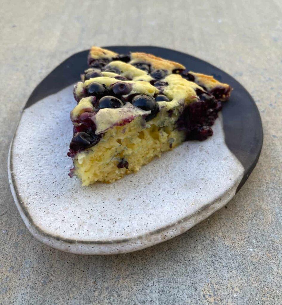 Blueberry WW pancake skillet