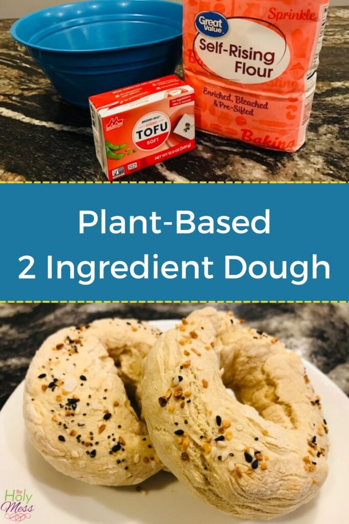 Plant-Based 2 Ingredient Dough with Tofu