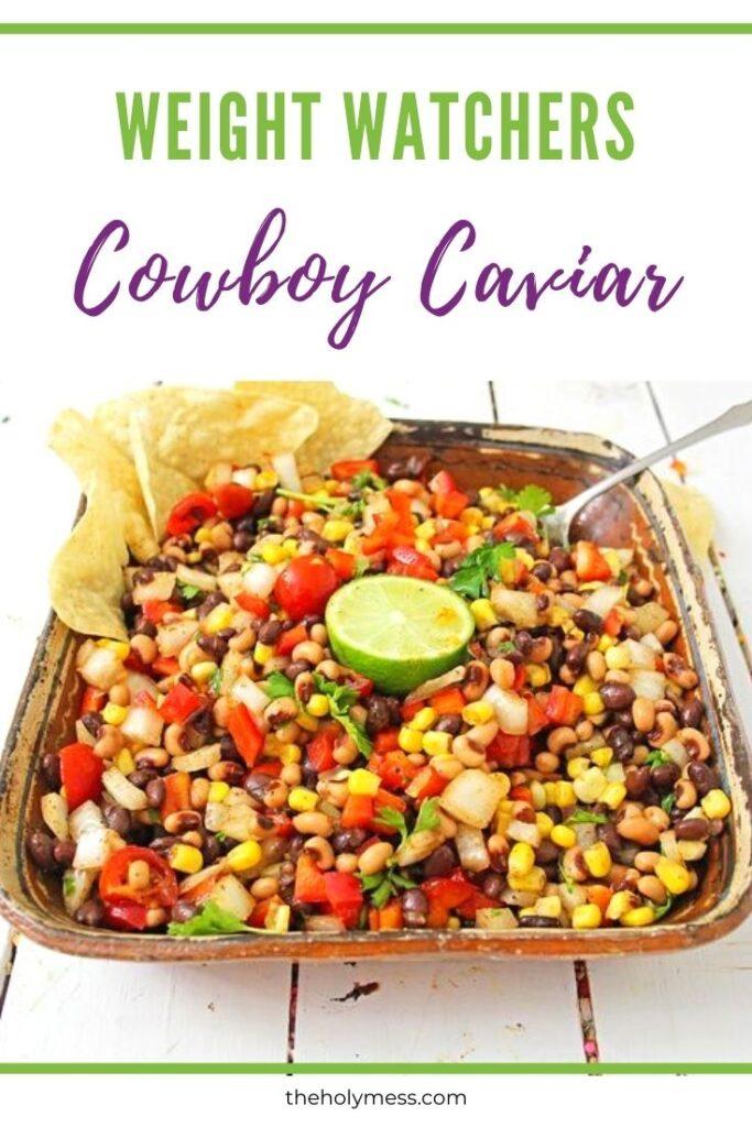 Weight Watchers cowboy caviar