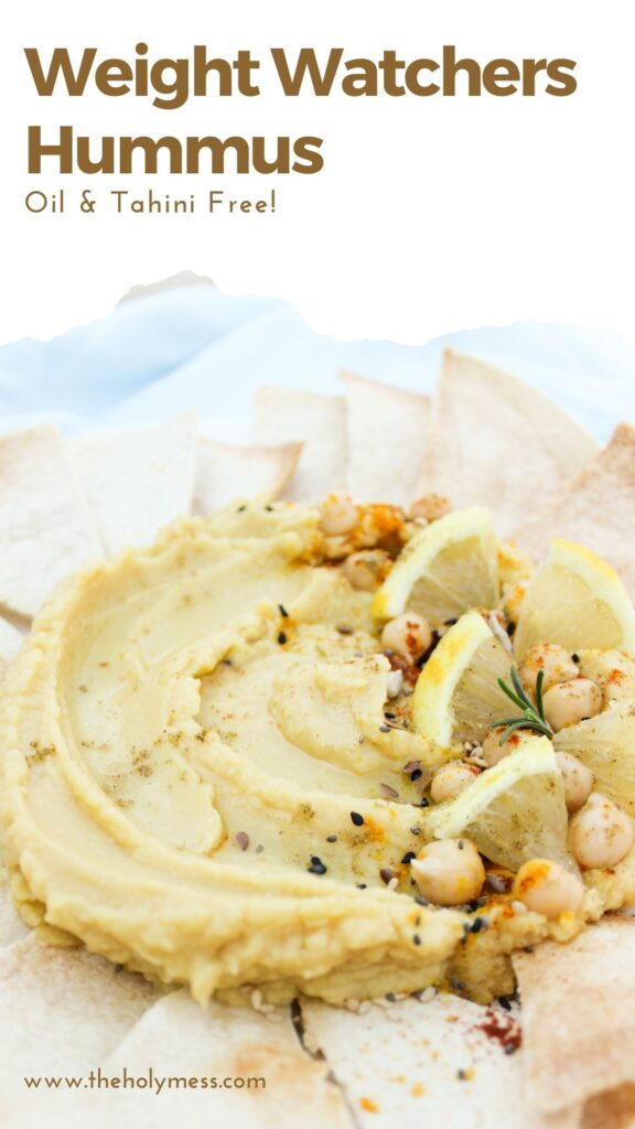 Hummus without Oil