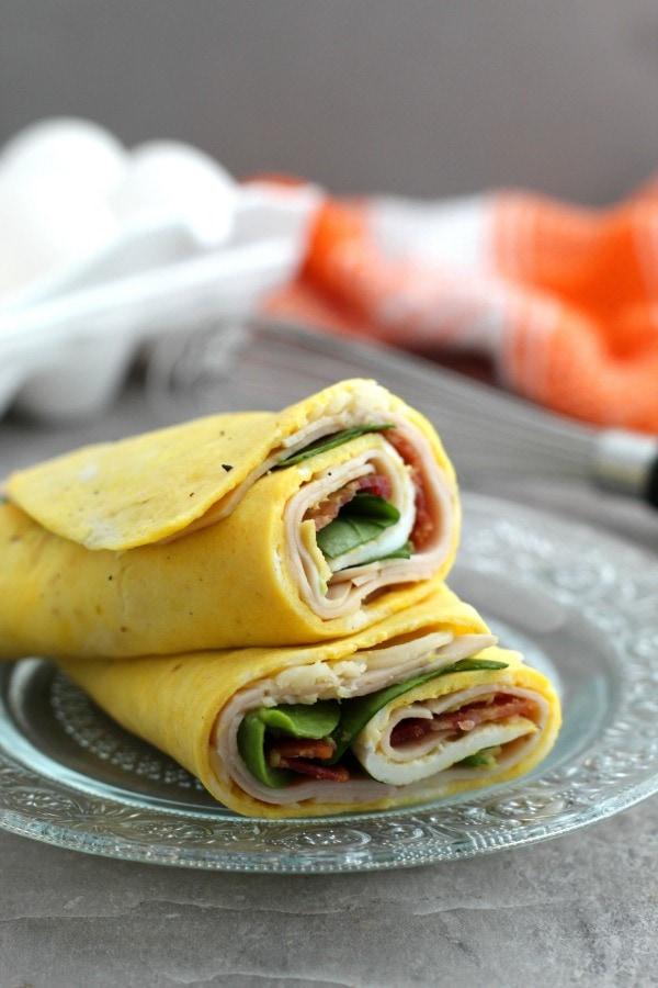WW turkey egg wrap