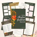 Monthly Gratitude Journal
