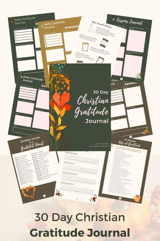 The Holy Mess Christian Gratitude Journal
