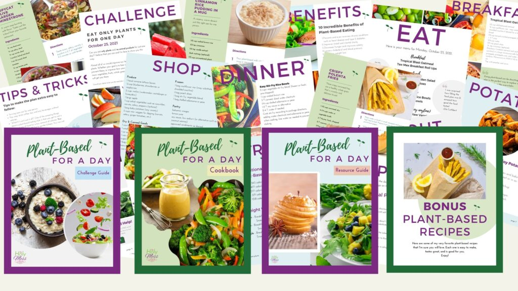 Plant Based Challenge All Pages