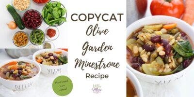 Copycat Olive Garden Minestrone Recipe