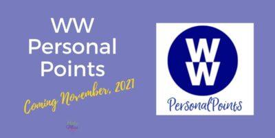 WW personal Points